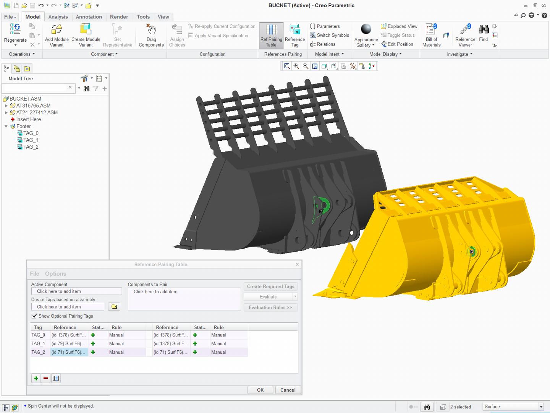 PTC Creo ile Varyant Tasarımı (options modeller)